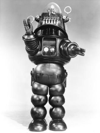 Robbie the Robot, from the Film 'Forbidden Planet, 1956 Photographic Print at Art.com