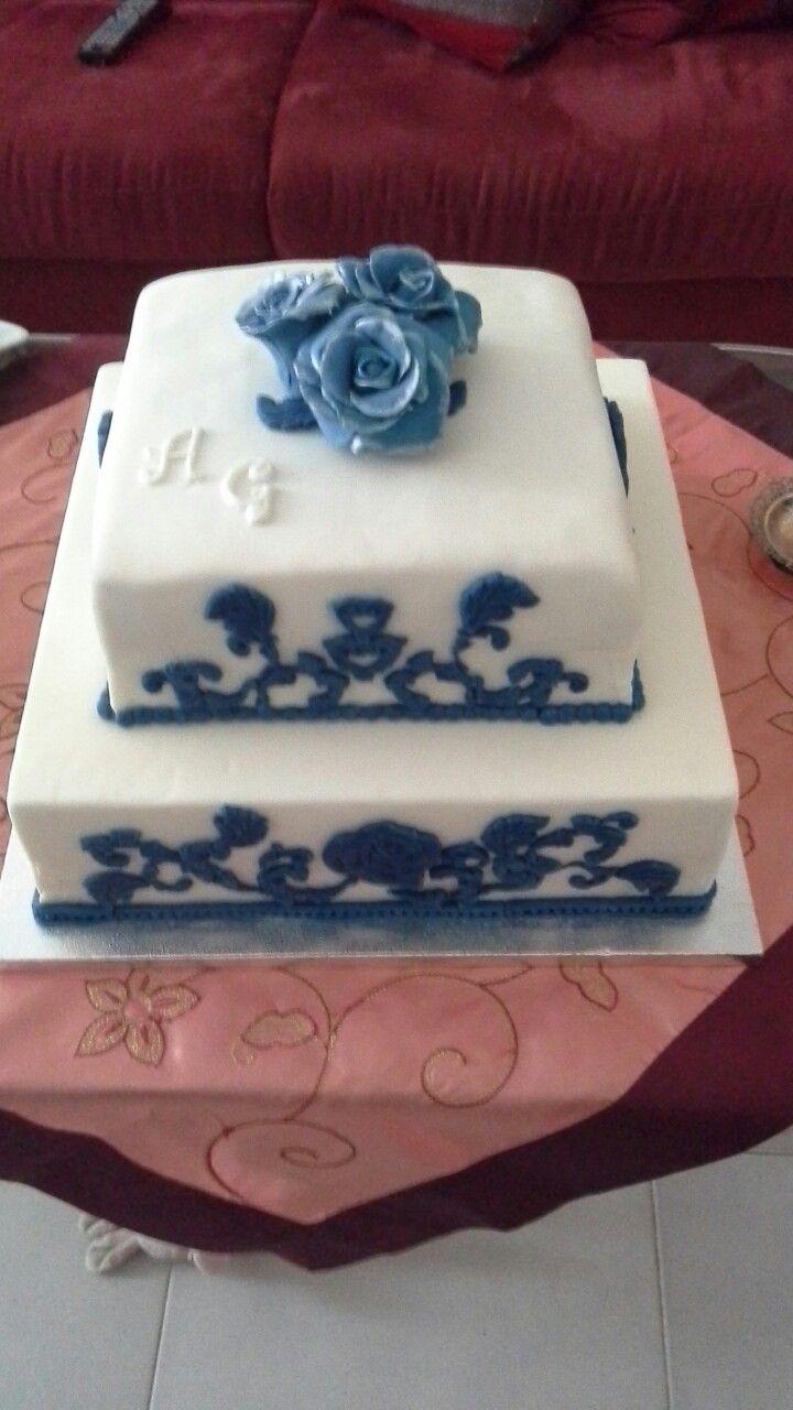 Torta per un anniversario di matrimonio