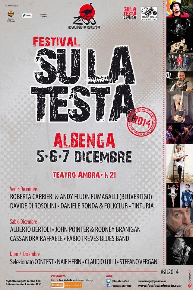 Festival SU LA TESTA 2014  #slt2014 #visitirivera