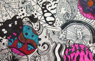 6th grade- Spot of Color