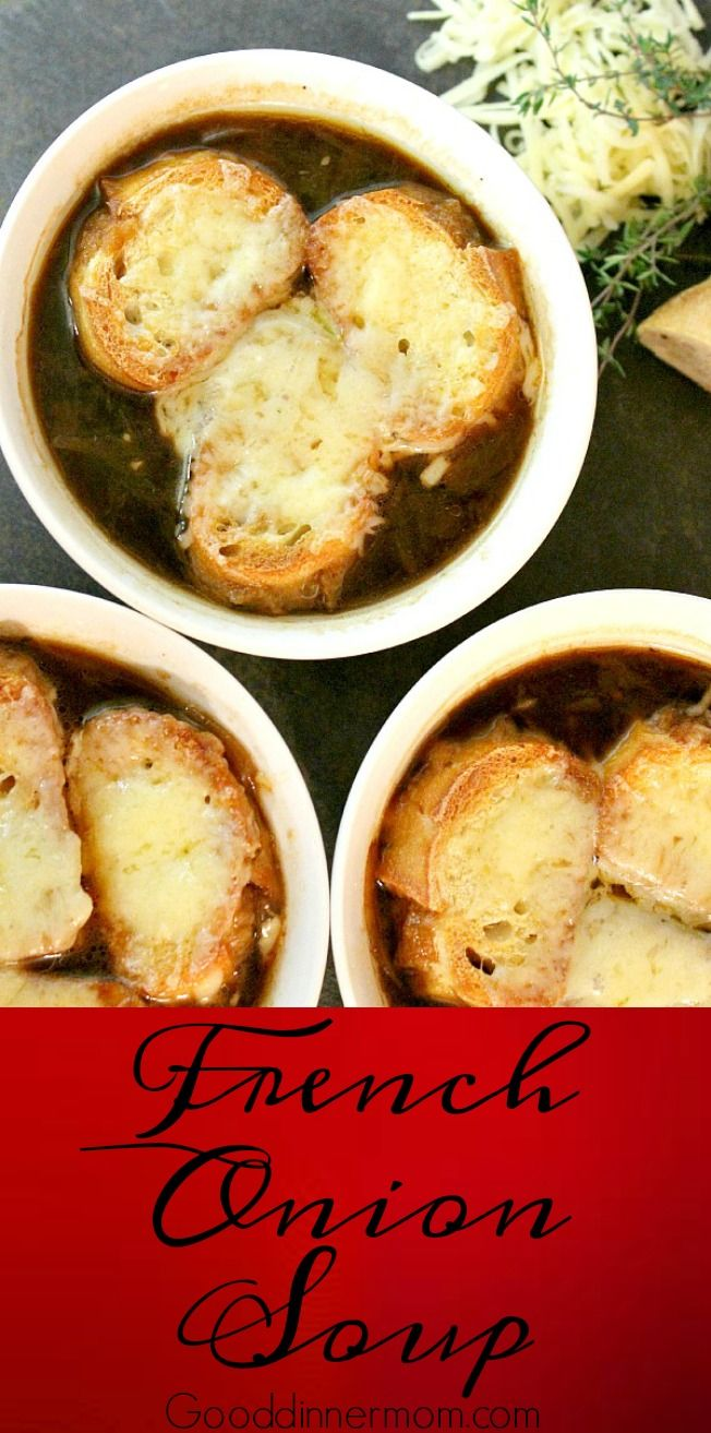 Authentic French onion deep flavor comes through in this soup. Easy instructions, you don't need another recipe.