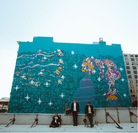 "Foster the People 's massive downtown Los Angeles mural, unveiled in January ahead of the release of the band's latest album, ""Supermodel,"" will be coming down sooner than expected because of conflicts with city officials over its approval."
