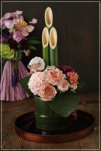 【予約限定】新春フラワーアイテム Flower note の 花日記 (横浜・上大岡 アレンジメント教室)