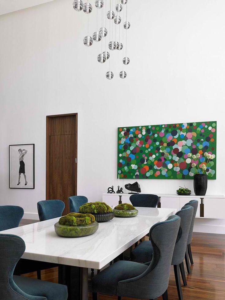 20 Unique Planters In Dining Rooms Interior Design Living RoomDining Room DesignTop DesignersDecor DesignModern TablesDining
