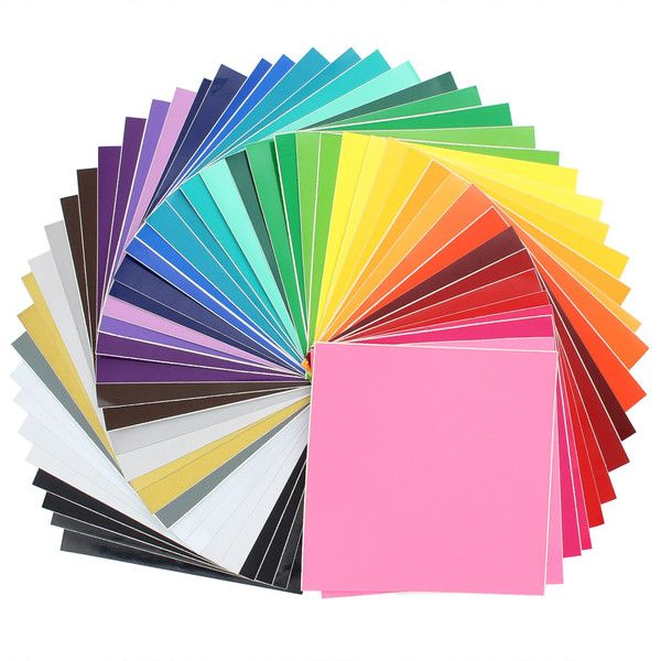 - Top 48 most popular colors - 24 sheets of Oracal 631 matte vinyl - 24 sheets of Oracal 651 glossy vinyl - Vinyl is designed to last years Works great with Silhouette Cameo, Silhouette Cameo 2, Silho