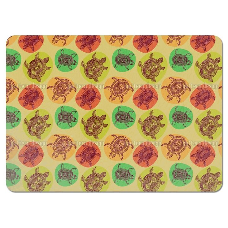 Uneekee Turtles of All Oceans Placemats