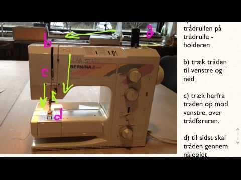 """Hei! Dette er del 4 av SIY prosjektet mitt og muligens den siste innenfor """"opplæring"""" av søm. I denne videoen viser jeg til hvordan man bruker en symaskin og..."""