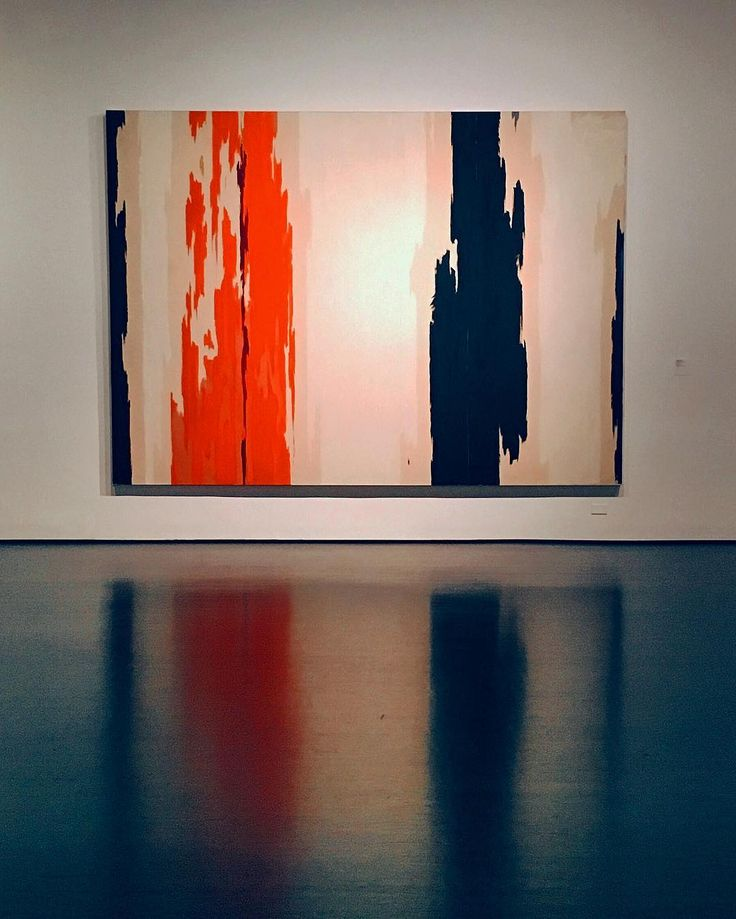 PH-143 by Clyfford Still. Abstract Expressionism at its finest. by thefoxisblack