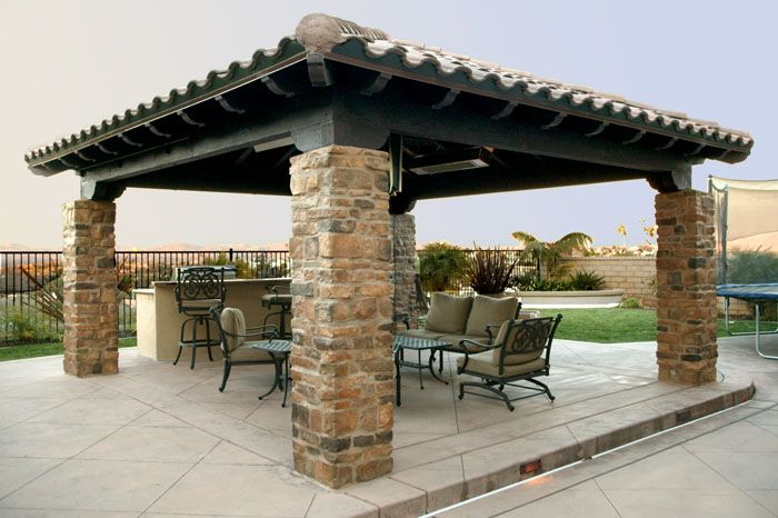 Captivating Free Standing Patio Cover Designs 842   Pictures, Photos, Images