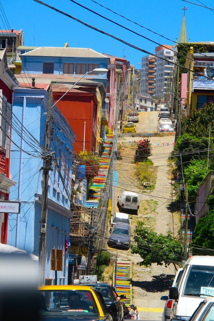 Valparaiso -- calle de mi hostal