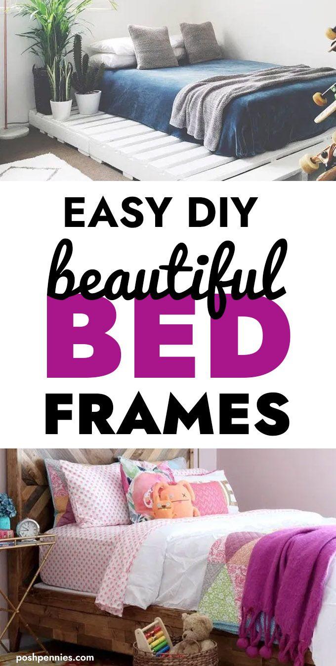Home Goods Bed Frames : goods, frames, Awesome, Frames, Totally, Pennies, Frame,