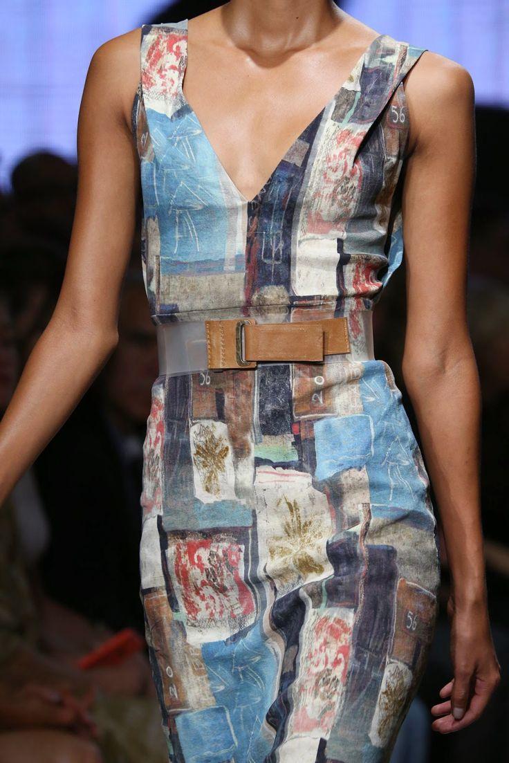Donna Karan 2015 Spring/Summer