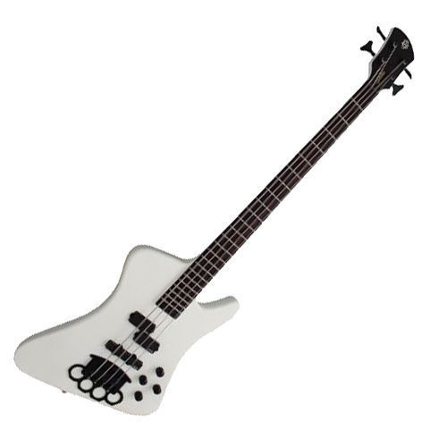 Spector CK 4 White Chris Kael Signature 4 String Electric Bass FFDP Knuckle #Spector