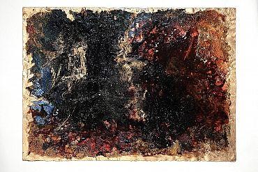 Torna in superficie il fondo oro prediletto dalla Donati. Gli scuri sono in cerca di spazio e volume ma la relazione aperta con lo sfondo luminoso rompe le forme orientando lo sguardo.Se volete vedere le mie creazioni venite sul mio sito http://www.marcelladonati.com