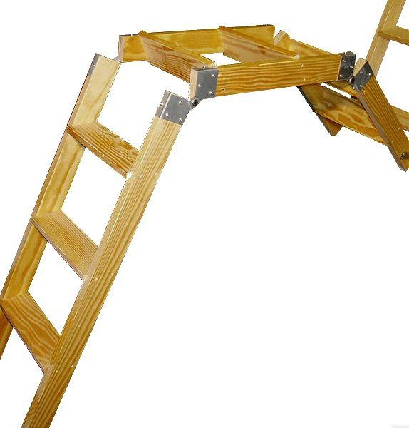 Double Action Ladder Folding Attic Stairs Accessories Portfolio Item