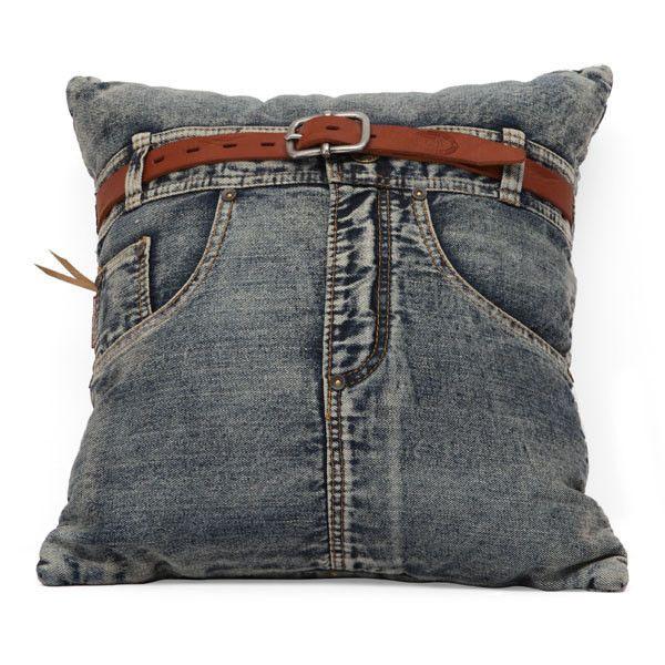 Jean Cushion Blue Denim w/ Front Jean