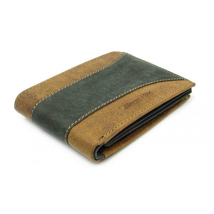 Kožená peněženka moderní pánská - peněženky AHAL