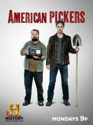 American Pickers 💛💜💚💟💖💗💙❤