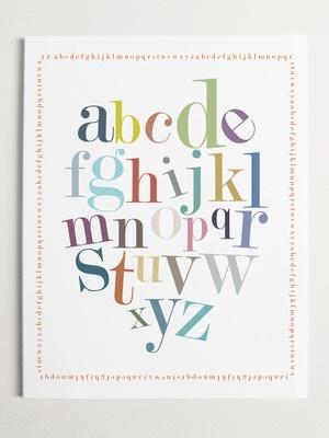 The playful alphabet: Alphabet Border, Border Prints, Art Prints, Nurseries Wall Art, Products, Modernpop, Kids Rooms, Alphabet Art, Alphabet Prints