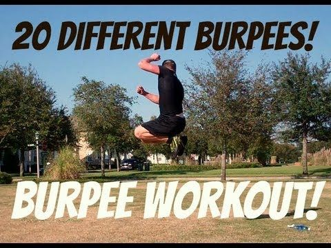 KILLER Burpee Workout: 20 Different Burpee Exercises! Sean Vigue Fitness