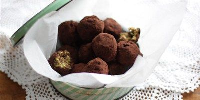 Coconut Fudge Balls