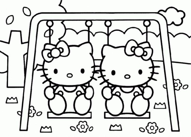 77 besten Hallo kitty Bilder auf Pinterest | Ausmalbilder hello ...