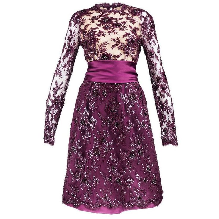 90s John Anthony Burgundy Floral Lace Cocktail Dress with Rhinestone Details   From a collection of rare vintage evening dresses and gowns at https://www.1stdibs.com/fashion/clothing/evening-dresses/