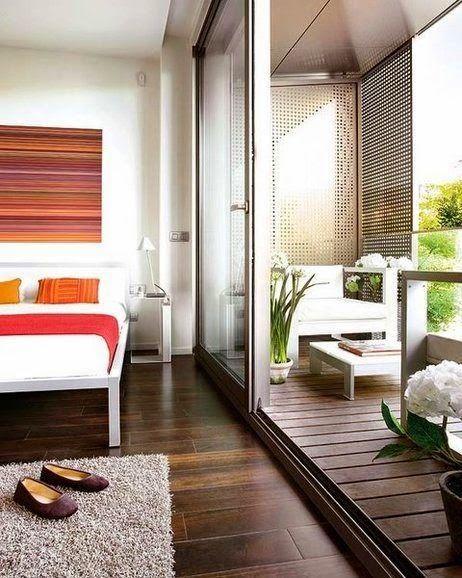 MI RINCÓN DE SUEÑOS: Como aprovechar un balcon cerrado
