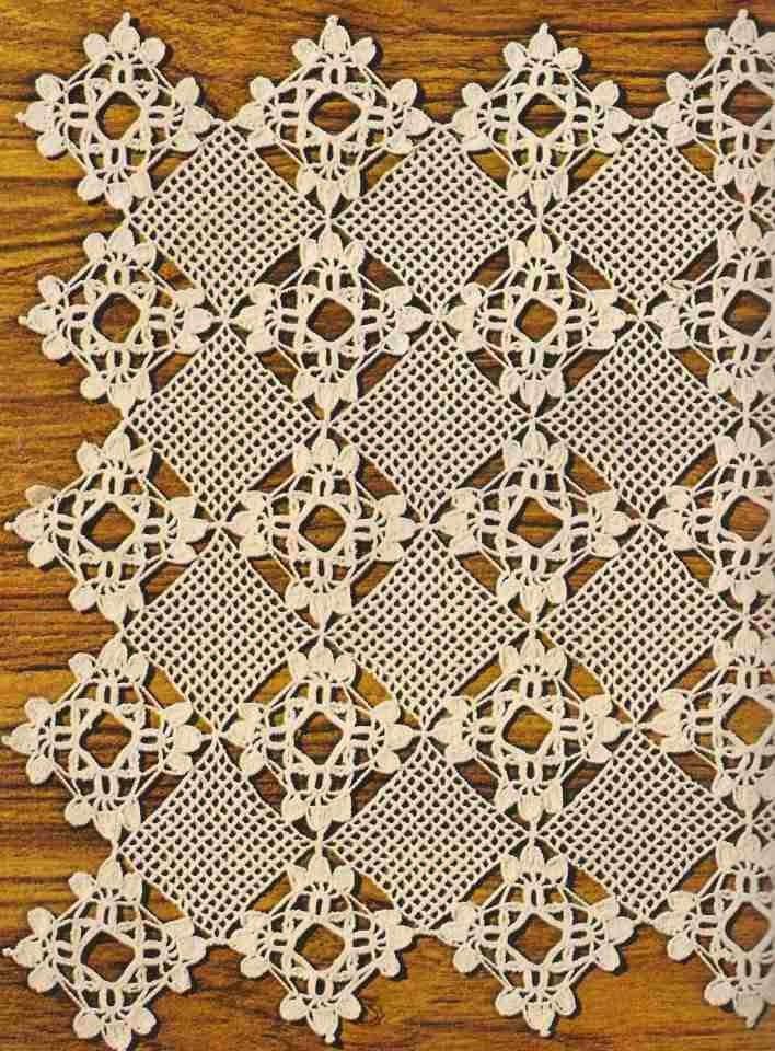 """#215 Tapete """"Imperio"""" a Crochet o Ganchillo"""
