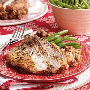 Slow-Cooker Turkey & Dressing | MyRecipes.com