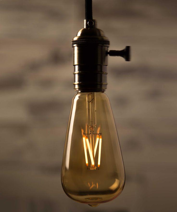 Vintage Light Bulb LED - Large Teardrop LED - William&Watson