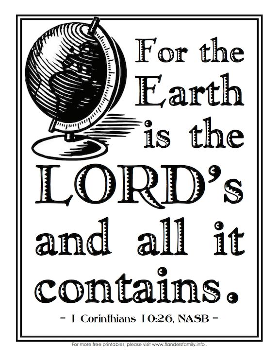 free printable coloring pages with scripture emphasis from wwwflandersfamilyinfo