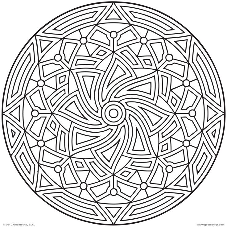 Adult Coloring Pages Patterns : Best 20 geometric coloring pages ideas on pinterest mandala