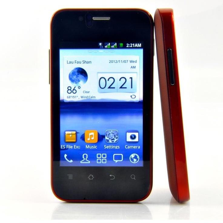 Piccolo ed elegante,con processore da 1 ghz e dual sim.Disponibile in 3 colori.