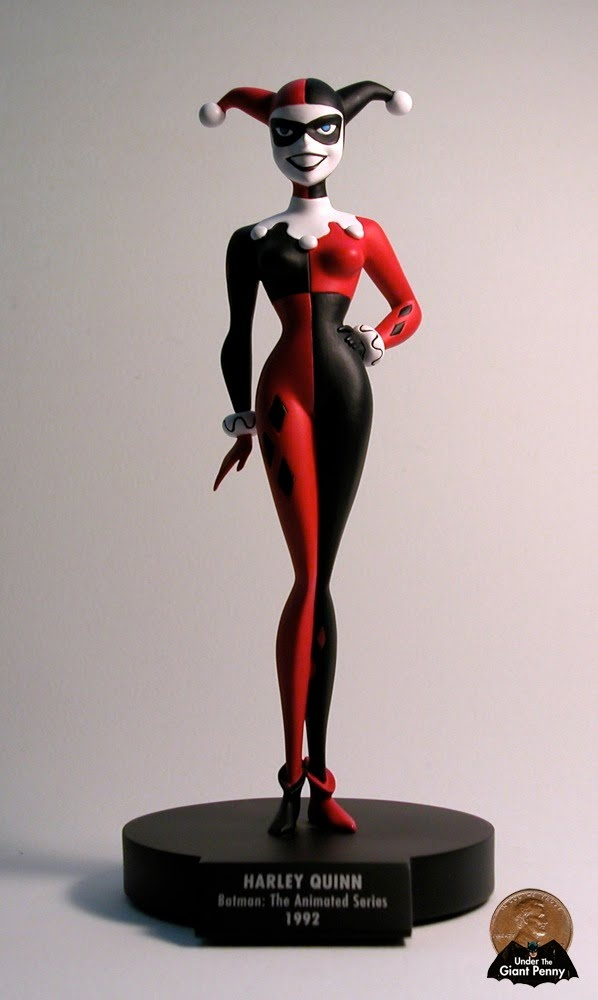 Under the Giant Penny: DC Direct #Batman The Animated Series Harley Quinn #Maquette - Jack Mathews