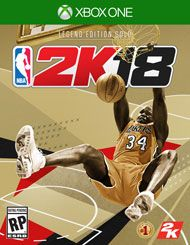 NBA 2K18 Legend Edition Gold - Only at GameStop for Xbox One | GameStop