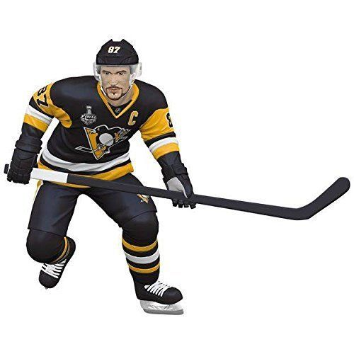 "◊ Hallmark Keepsake Ornament~Dated 2017. ""Sidney Crosby"". Pittsburgh Penguins Hockey. Hallmark Ornament. 