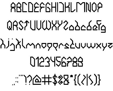 Image for house builder font