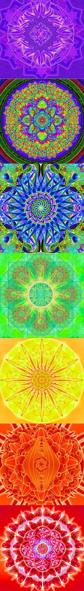 ^7 Chakra Mandala to Heal all your Chakras