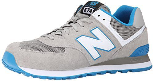 New Balance Men's ML574 Core Plus Collection Running Shoe, Grey/Blue, 11 D US - http://all-shoes-online.com/new-balance/11-d-m-us-new-balance-mens-ml574-core-plus-sneaker-4
