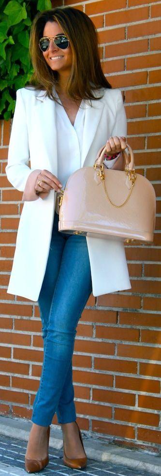 Zara White Women's Chiffon Wrap Blouse by Oh my Looks