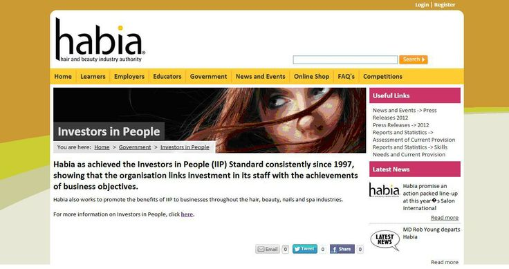 Hair and Beauty Industry Association - Investors in People since 1997
