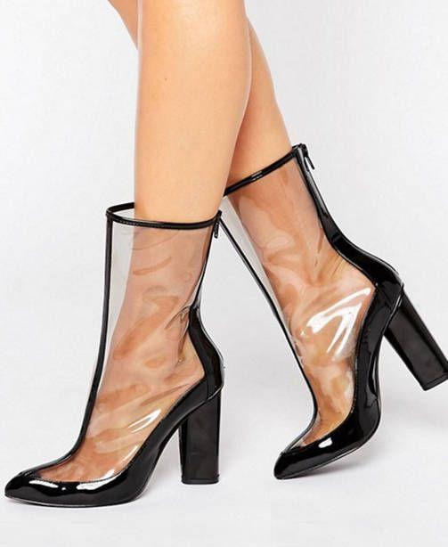 Säpinää talveen läpinäkyvillä kengillä! Kopioi Kendall Jennerin tyyli