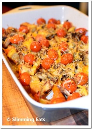 Smoked Mackerel Bake | Slimming Eats - Slimming World Recipes