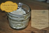 ARE THEY ALL YOURS?!??: Miracle Paste for staph and MRSA boils