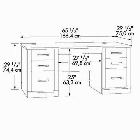 Desk Dimensions best 10+ desk dimensions ideas on pinterest   office table design