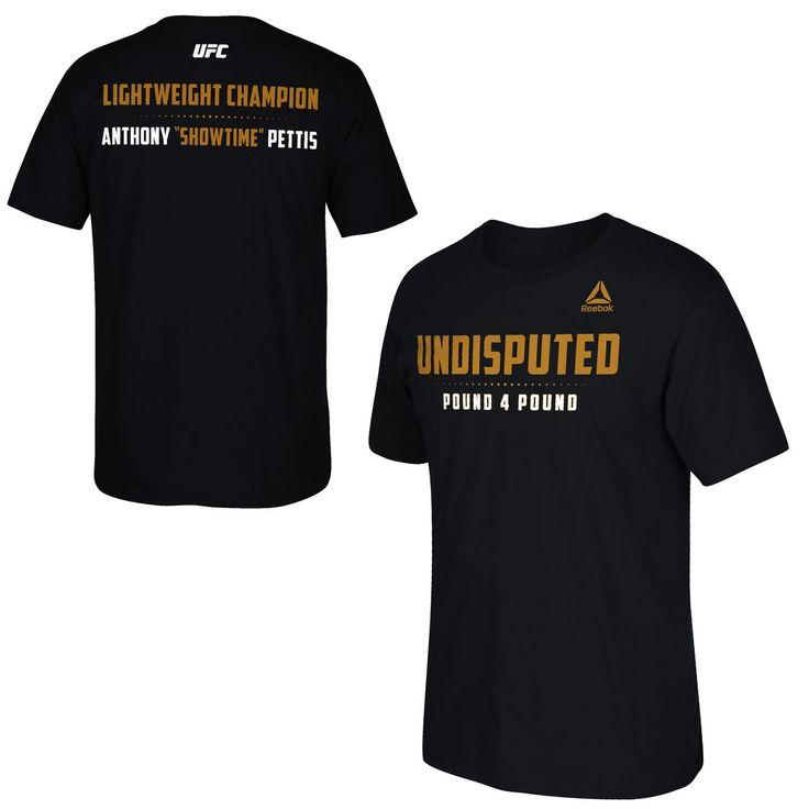 Anthony Pettis UFC 185 Reebok Fan T-Shirt - Black - $25.59