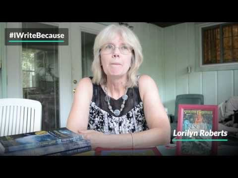 Lorilyn Roberts - #IWriteBecause  http://lorilynroberts.blogspot.com/2017/05/lorilyn-roberts-iwritebecause.html