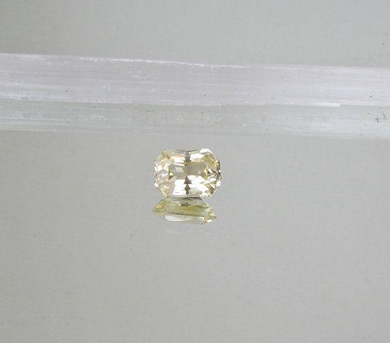 Radiant Cut Champagne Yellow Sapphire Almost by PristineJewelry