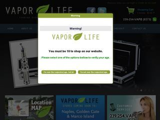 Vapor Life Naples Vape and E-Cig Store Naples, Florida | Your Local Vapor Store Vape Shop